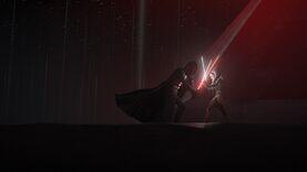 Darth Vader duel