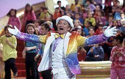 Rainbow Randolph sings