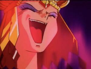 Sailor Galaxia Evil Laugh