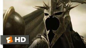 The Lord of the Rings The Return of the King (5 9) Movie CLIP - The Witch King (2003) HD