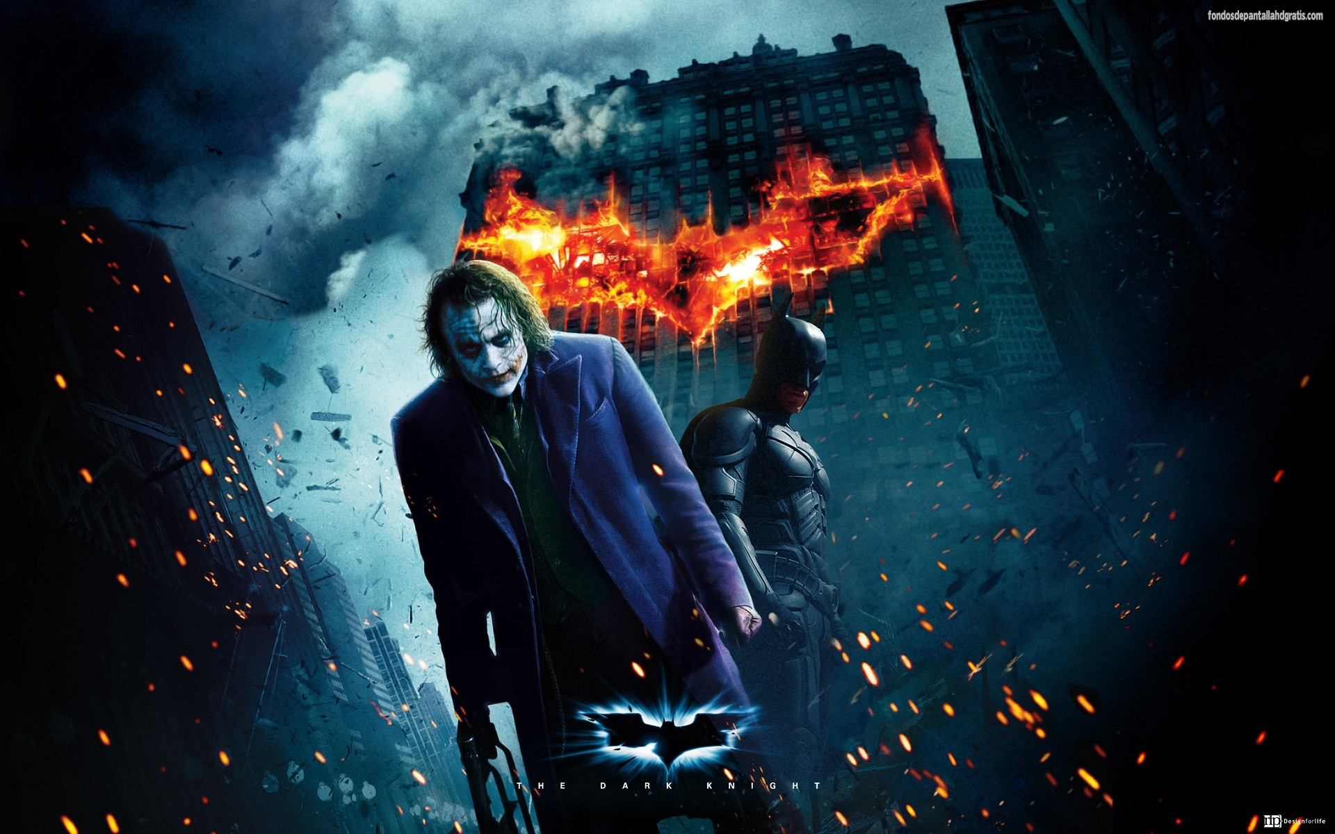 Image Batman The Joker 3d Dark Knight Hd Wallpapers Rh Villains Wikia Com Rises Wallpaper 1080p