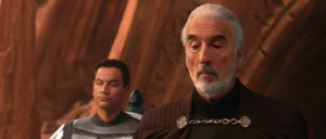 Count Dooku observes