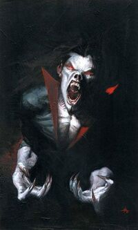 Morbius The Living Vampire Vol 2 1 Textless