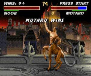 Motaro's MK Trilogy wins