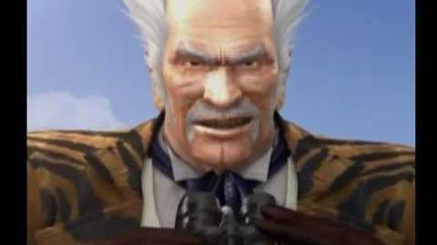 Tekken 5 - Heihachi Mishima ending - HQ