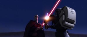 Count Dooku make-shift