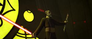 Dooku two sabers