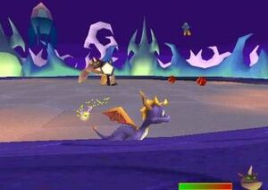 Spyro vs. Spike