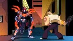 TMNT 2003 - Best scenes of the Cyber Shredder
