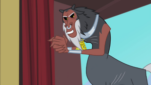Tirek in anticipation S4E25