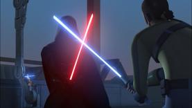 Vader counterattacks