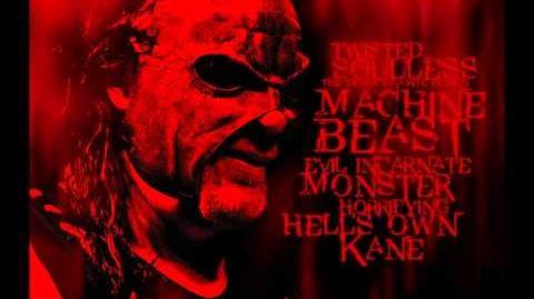 "2011 Masked Kane New Theme Song - ""Veil of Fire"" Full"