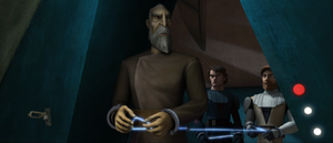 Count Dooku cell opened