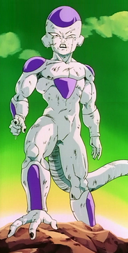 Frieza surviving Spirit Bomb