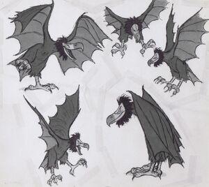 Gwythaint Vultures