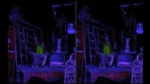 Haunted Mansion Blast-up Ghost (in 3D)