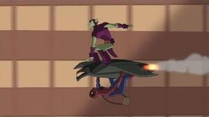 Spectacular Spider-Man (2008) Spider-Man and Green Goblin talk