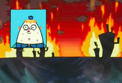 SpongeBob SquarePants Mrs. Puff as the Culprit on TV