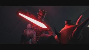 Star Wars The Clone Wars - Savage Opress vs