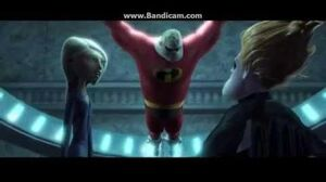 """The Incredibles Clip """" It'll be easy , like breaking a toothpick!"""""""