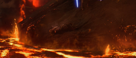 Vader amputated