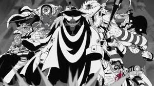 Blackbeard Pirates Attack Whitebeard