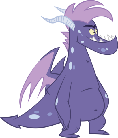 File:Dark purple teen dragon vector by thesharp0ne-d509qpk.png