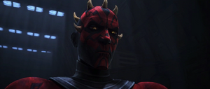 Darth Maul observes