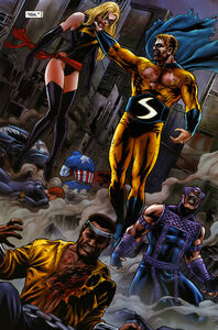 Sentry Infecting Avengers