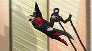 Spectacular Spider-Man (2008) Black suit Spider-Man meets the Sinister Six part 2 2