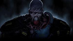 Wallpapersden.com nemesis-resident-evil-3-remake 3840x2160