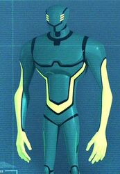 Cypher, as he appears in the Beware The Batman TV Series