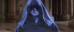 Darth Sidious aggressive