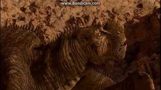 Disney Dinosaur Carnotaurs Attack Bruton