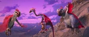 Gavin Gertie and Roger flying