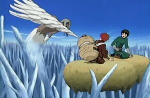Kimimaro vs Gaara Rock Lee