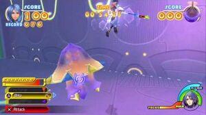 Kingdom Hearts Birth by Sleep Final Mix Aqua's Story Part 18 Unversed Missions Gluttonous Goo