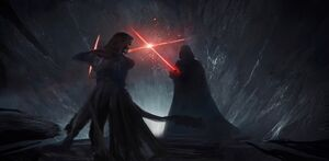 Kylo and Vader Duel of Fates