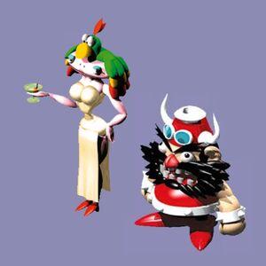 Lady Valentina & Master Booster