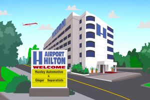 The Airport Hilton Hotel