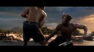 Black Panther - T'Challa vs Killmonger First Fight HD
