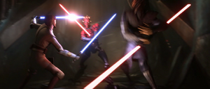 Darth Maul attacking