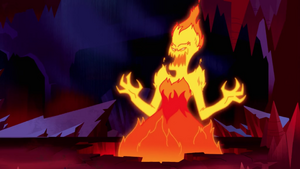 Entry of the Lava Lady