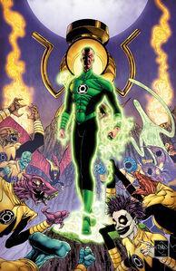 Green Lantern Vol 5 3 Textless Variant