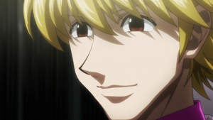 Pariston smiling