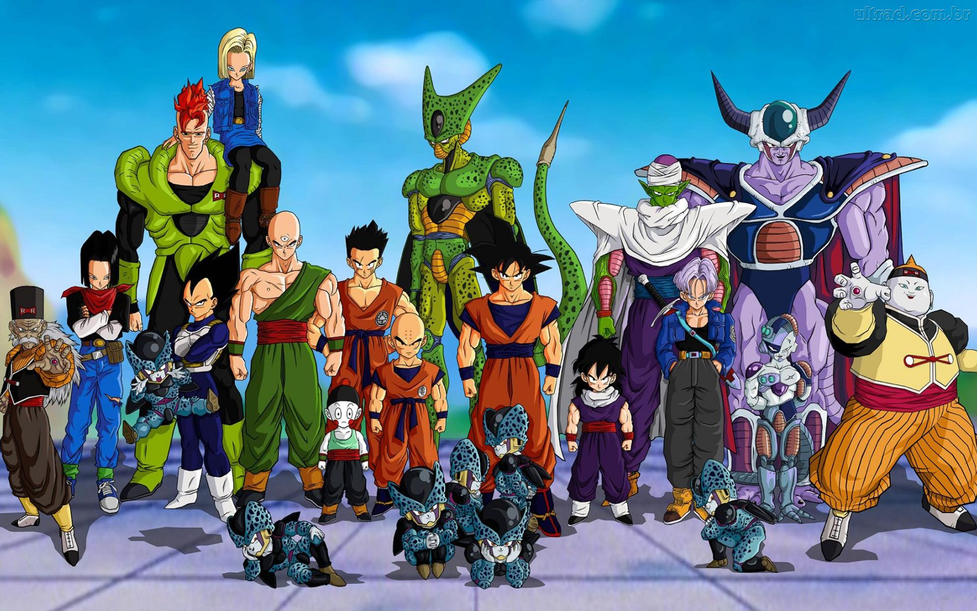 dragon ball z cell series