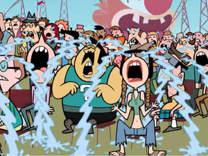 Crying People of Townsville