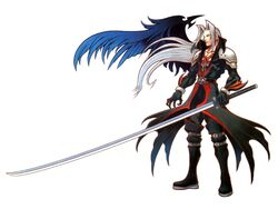 Sephiroth the One Winged Angel