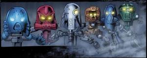 The Voya Nui Resistance Team (Comic)
