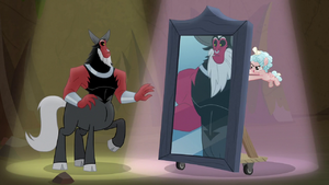Tirek sees his final form in the mirror S9E8